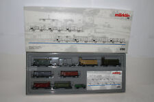 MARKLIN HO SCALE #4789 GERMAN STATE RAILROAD 8-CAR WAGEN SET, EXCELLENT, BOXED