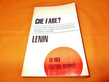 lenin che fare la concezione leninista del partito del proletariato 1968 br. cuc