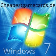 MS Windows 7 Professional Pro DE 32 & 64 Bit OEM Product key per email