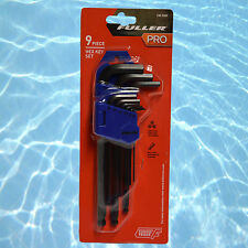 Fuller Pro 9 Pce Ball End Hex Allen Key Metric Set Allan