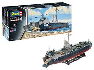 Revell 1:144 scale model kit - US Navy Landing Ship Medium RV05169