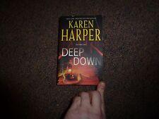 Deep Down by Karen Harper paperback