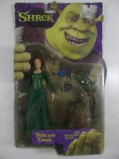 Princess Fiona Leg Kicking Action Mcfarlane  Shrek 2001 Bird variant NIB MOC