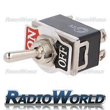 Heavy Duty Toggle Flick Switch 12v On/off Car Dash Light Metal 12 Volt DPST