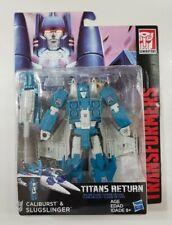 New listing Hasbro Transformers Titans Return Deluxe Class Slugslinger Misb! Rare!