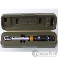"""PROXXON DREHMOMENTSCHLÜSSEL 3-15 Nm 195mm 1/4"""" MicroClick MC15 mit Koffer"""