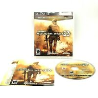 Call Of Duty Modern Warfare 2 Sony PlayStation 3 PS3 Tested Complete Very Good