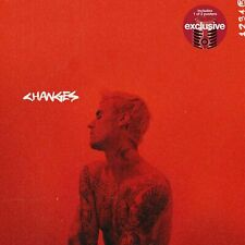 Justin Bieber - Changes CD w/ 1 of 2 Target Exclusive Posters Included