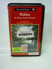 Audio Book: Walden by Henry David Thoreau (8 Cassettes) SameDay Ship'n