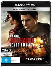 Jack Reacher: Never Go Back (4K UHD/Blu-ray) NEW Blu-Ray