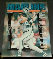 1995 MARLINS MLB MAGAZINE WITH SCORE CARD VOLUME 3 EDITION 4 ALL STAR MVP CONINE