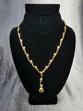 """16"""" Extraordinary Briolette Vine Necklace by AVON ~ NEW in Box ~ Goldtone"""