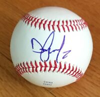 Domingo Leyba Arizona Diamondbacks Signed Autograph Baseball