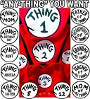 Thing 1 T SHIRT THING 2 ADULT YOUTH INFANT THING ONE