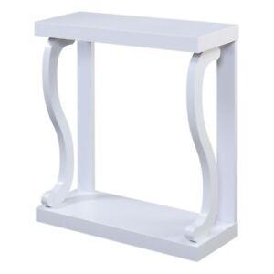 Convenience Concepts Newport Gramercy Console Table, White - 121809W