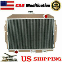 4 Row Aluminum Radiator for 1958-1974 1959 69 AMC AMX/Javelin/Marlin/SST V8