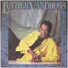 Luther Vandross, Give me the reason,  VG/VG, LP (5922)