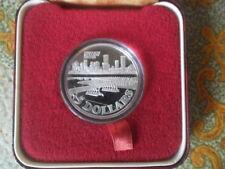 1982 Singapore Benjamin Sheares Bridge $5 Silver Proof Coin