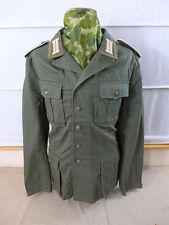 Gr.54 DAK Afrikakorps Feldbluse M40 schilfgrün Unteroffizier Uniform mit Litze