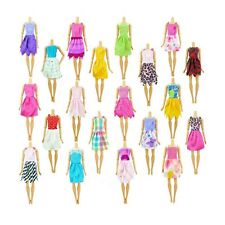 10pcs Random Play House Toy Doll Dress Handmade Child Gift Barbie Clothes