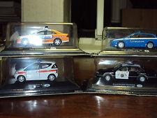 6 X 1:43 WORLD POLICE CARS  FORD ALFA SPORTSWAGON SKODA OCTAVIA MERCEDES + BONUS