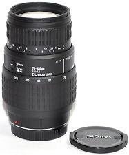 Zoom SIGMA AF 70-300mm f/4-5, 6 DL Macro Super Obiettivo per Sony Minolta
