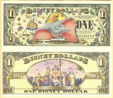 "2005 Disneyland $1 One Dollar ""Dumbo"" Disney Dollar Unc. ""No Barcode"""