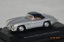 Mercedes 300 SL Gullwing silber-schwarz 1:87 Schuco neu + OVP 25340