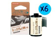 6x Babylon Kino B&W 35 mm ISO 13 FILM *FREE SHIPPING*