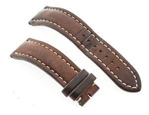 Genuine Breitling 433X 22mm Lug Brown Calf Leather Watch Strap
