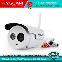 Foscam IP Camera FI9803P 720P HD Wifi Wired Waterproof Home Security Refurbished