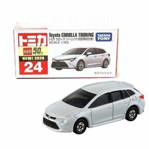 Takara Tomy Tomica No.24 Toyota Corolla Touring (1st) 1/63 Mini Diecast Toy Car