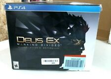 Deus Ex: Mankind Divided -Collector's Edition For PlayStation 4 Ps4 Games New