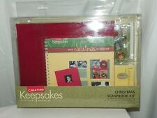 CREATING KEEPSAKES CHRISTMAS SCRAPBOOK KIT NEW IN CONTAINER