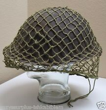WWII style British Light green steel pot helmet net cover each E3306