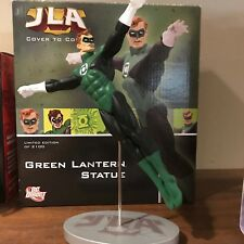 DC DIRECT GREEN LANTERN JLA COVER TO COVER STATUE! NEW!