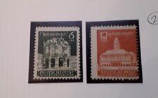 Soviet SBZ zone 1945 East Saxo y Reconstruction fund MNH