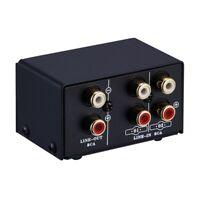 SéLecteur de Signal de Source Audio 2 en 1 ou 1 en 2 Sorties,Commutateur,Ha M6G1