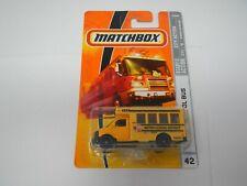 Matchbox City Action GMC School Bus #42