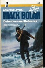 Executioner #89 Defenders and Believers - PB 1986 - Don Pendleton - Mack Bolan