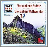 Folge 23: Versunkene Städte/Die Sieben Weltwunder von Was ... | CD | Zustand gut