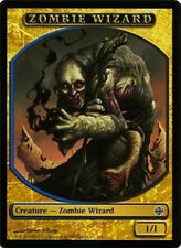 5x TOKEN Mago Zombie 1/1 - Zombie Wizard 1/1 MTG MAGIC AR Alara Reborn Ita