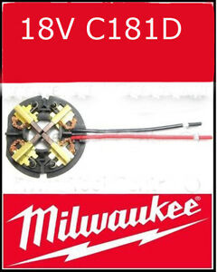 Milwaukee 290069199 Carbon Brushes Spare Part HD18PD/C18PD MW1