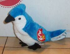 Ty Rocket the Blue Jay Beanie Baby plush toy