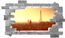 walL stickers-trompe l'oeil  -parigi -- adesivo per muro-moderno-prodotto italia