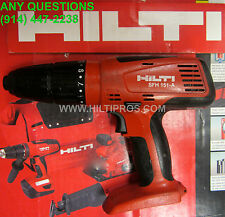 HILTI SFH 151-A 15.6V NiMH CORDLESS HAMMER DRILL, PREOWNED, FAST SHIPPING