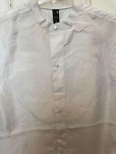 G-Star Damen Bluse T-Shirt Postuer Shirt Blouson ärmellos Gr. S weiß NEU