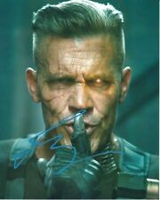 JOSH BROLIN Signed Autographed DEADPOOL NATHAN SUMMERS CABLE Photo