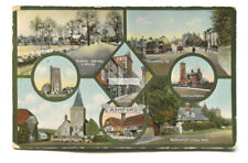 Ashford, Kent - old multiview postcard, Jay Em Jay Series