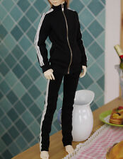 NEW Super Dollfie 4D black after school sports wear SD17 Korean maker